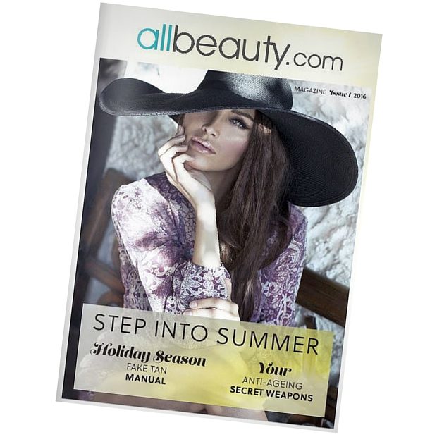 Read the allbeauty.com magazine issue one