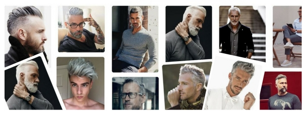 men's hairstyles for grey hair