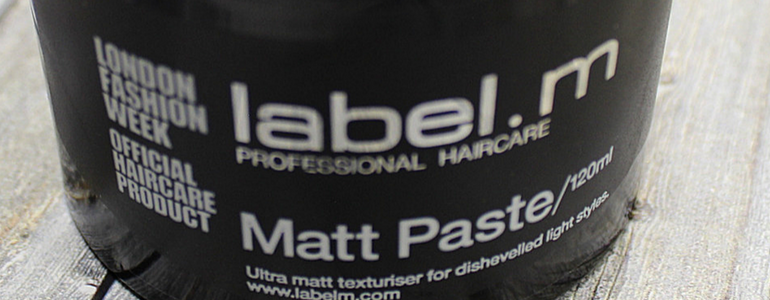 label.m matt paste review