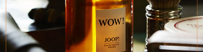 joop wow the new fragrance for men shop online at. Black Bedroom Furniture Sets. Home Design Ideas
