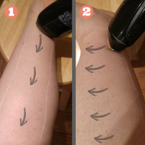 SmoothSkin Challenge Genius Leg Method