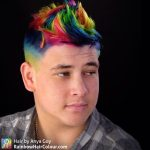 rainbow hair guy