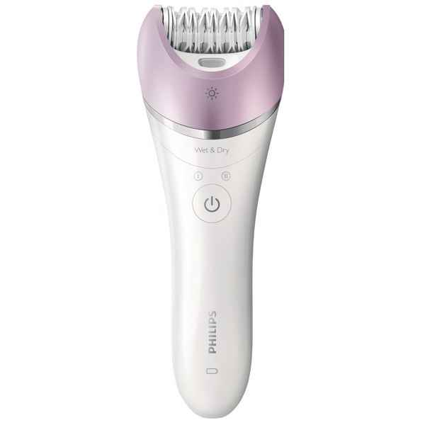 Philips Epilators Satinelle Advanced Wet and Dry Epilator with 4 Attachments