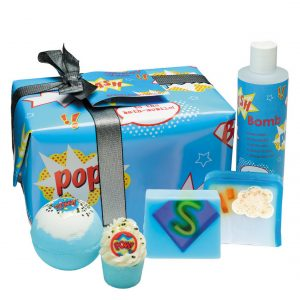 Superhero soaper gift box