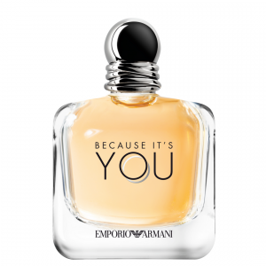 Emporio Armani fragrance Because It's You allbeauty blog