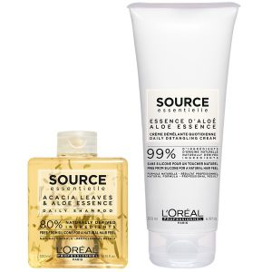 L'oreal source essentielle daily detangling duo