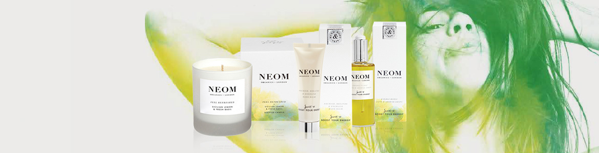 WIN! Energy Boosters Set From Neom Organics