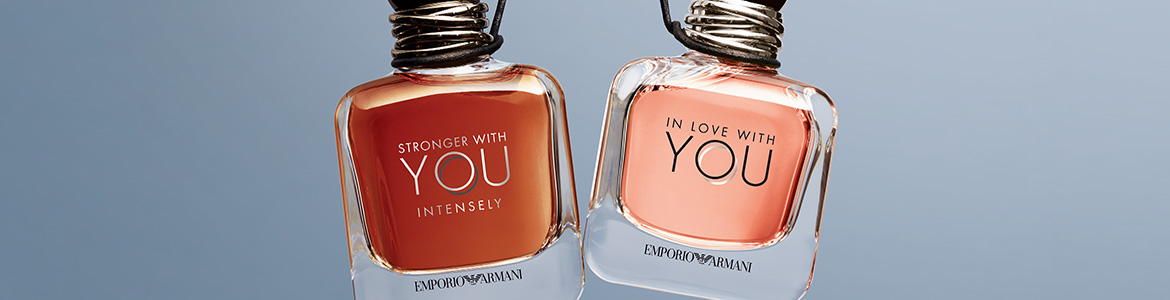 NEW Emporio Armani In Love With You & Stronger With You Intensely