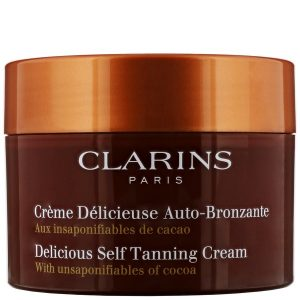 Clarins Delicious Self Tanning Cream with Unsaponiflables of Cocoa 150ml