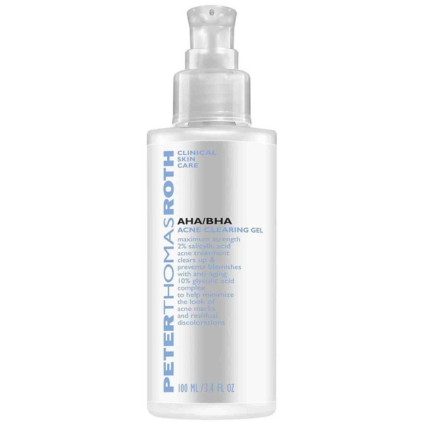 Peter Thomas Roth Acne Treatments AHA/BHA Acne Clearing Gel 100ml - Skin