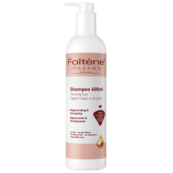 Foltène Anti-Hair Loss Solutions for Women Shampoo 400ml - thinning