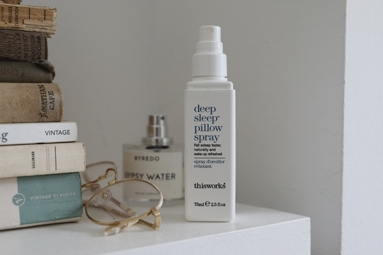 deep sleep pillow spray - thisworks